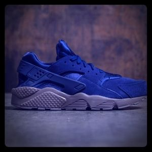 Nike Air Huarache blue / mashroom 9